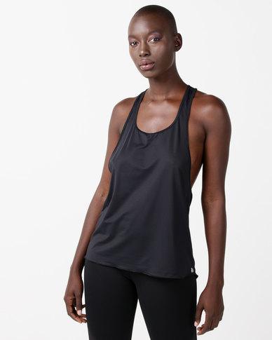 FIT Gymwear Gi Jane Vest Black