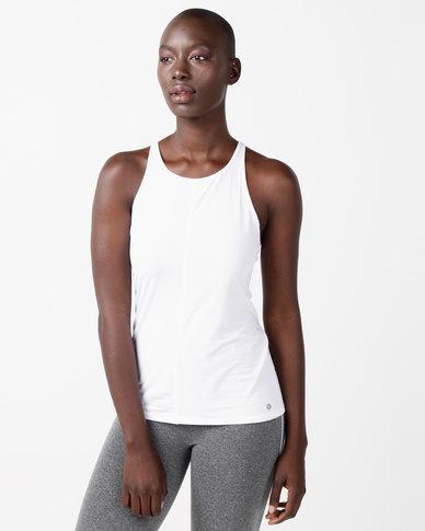 FIT Gymwear Reload Vest White
