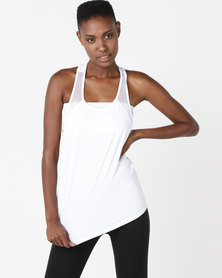 FIT Gymwear Best Vest White