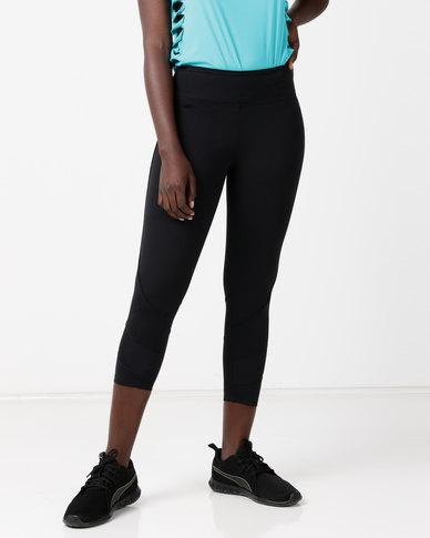 FIT Gymwear Kelly 3/4 Tights Black