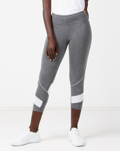 FIT Gymwear Kelly 3/4 Tights Grey
