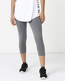 FIT Gymwear Kayla 3/4 Leggings Grey