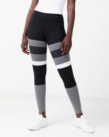 FIT Gymwear Matrix Skinny Tights Multi
