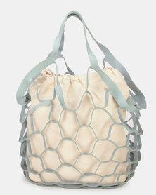 UB Creative Big Net Bag Blue