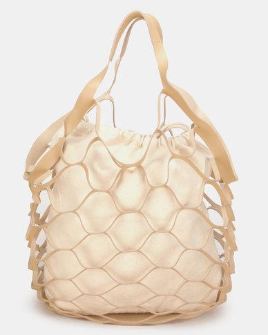 UB Creative Big Net Bag Stone