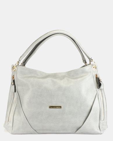 Blackcherry Bag Slouchy Handbag Grey