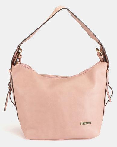 Blackcherry Bag Simple Slouchy Bag Dusky Pink