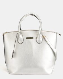 Blackcherry Bag Minimalist Shopper Silver