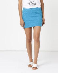 Lizzy Foxtrot Skirt Blue