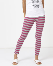Lizzy Nevelyn Fitted Leggings Pink