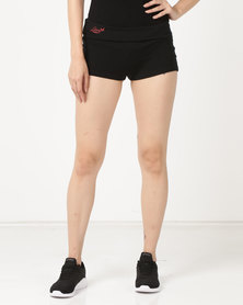 Lizzy Ladies Hot Pants Black