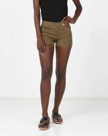 Lizzy Triffle Ladies Walkshorts Khaki