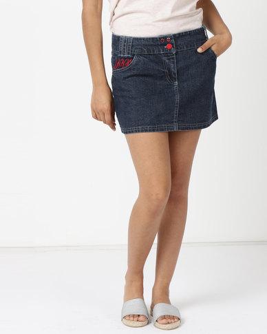 Lizzy Inga Ladies Skirt Blue