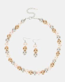 Queenspark Diamond Shape Diamante Bracelet Silver