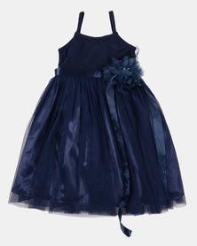 Fairy Shop Satin And Soft Tulle Dress