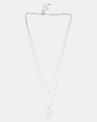 by cara buy online at zando Blue Oakley Jupiter Square D by cara double coin chain silver tone