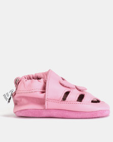 Shooshoos Cherub Walkers Shoes Pink