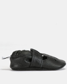 Shooshoos Truffle Walkers Shoes Black