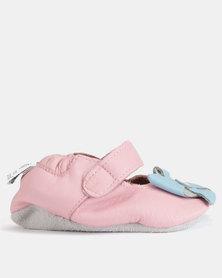 Shooshoos Carousel Walkers Shoes Pink/Blue