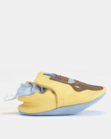 Shooshoos Beluga Bear Walkers Shoes Yellow