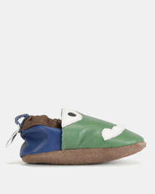 Shooshoos Frankleton Walkers Shoes Green