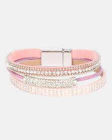 Lily & Rose Paris Stacked Bracelet Pink