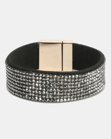 Lily & Rose Glamour Bracelet Silver Grey