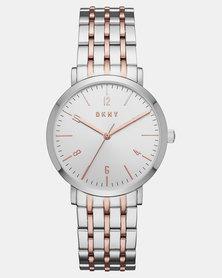 DKNY Minetta Watch Silver/Gold
