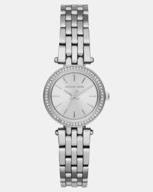 Michael Kors Mini Darci Steel Bracelet Watch Silver-plated