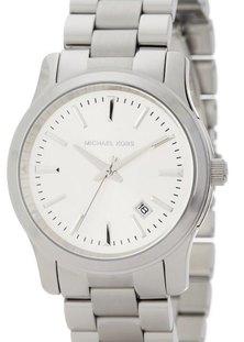 Michael Kors Runway Stainless Steel Watch Silver-plated