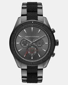 Armani Exchange Stainless Steel Watch Black