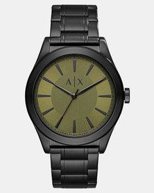 Armani Exchange Analogue Watch Black
