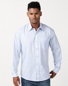 Pro Active Check Shirt Sky Blue