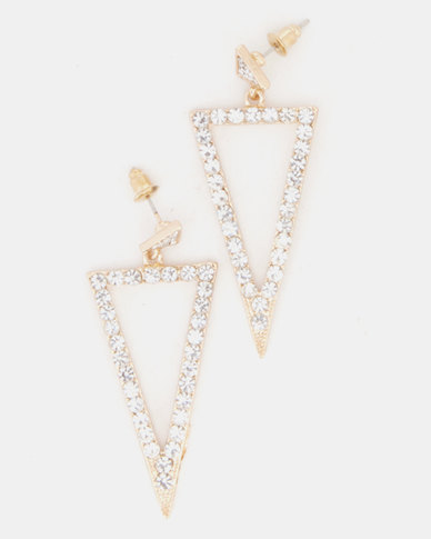 Lily & Rose Illumanate Drop Earrings Gold-Tone