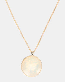 Lily & Rose Pendant Necklace Ceam