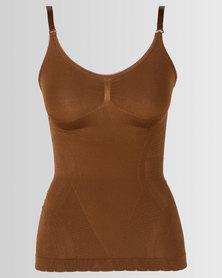 Covet Shapewear Camisole Vest Mocha