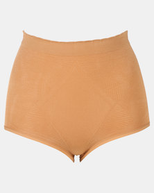 Covet High Waisted Panty Nude