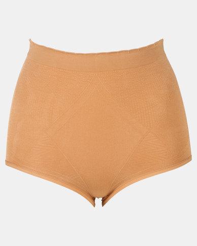 Covet Shapewear High Waisted Panty Nude