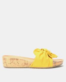 Solle Pool Slides Mustard