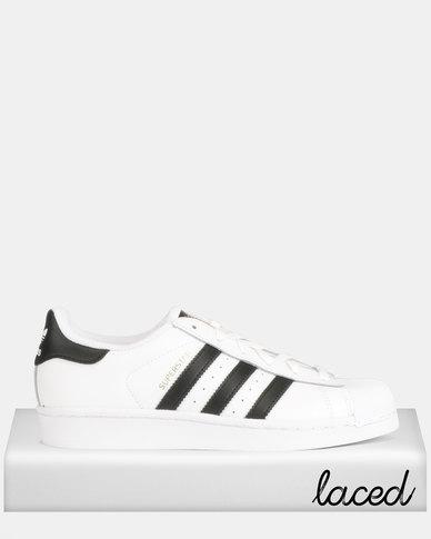 release date: 9cdc9 edbb3 adidas Originals Superstar W Sneakers White Black   Zando