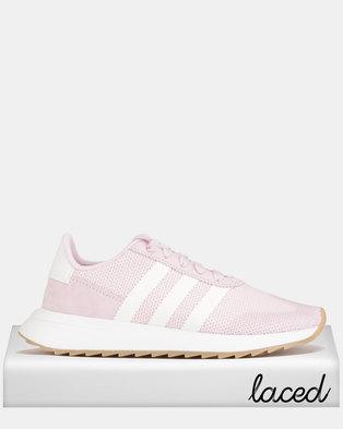 separation shoes 9515e d4c77 ... official adidas originals flb runner w sneakers pink white 7d336 d88c2