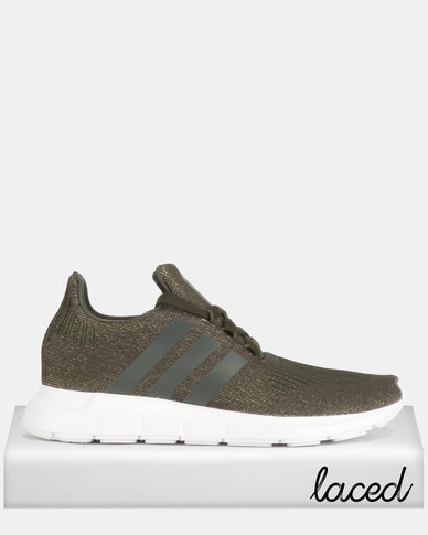 eecb56c1f9b38 adidas Originals Swift Run W Sneakers Green