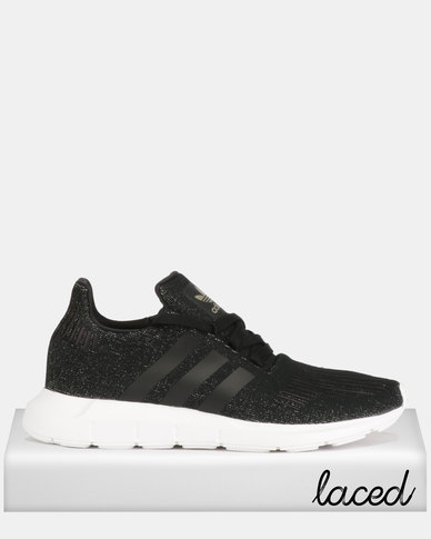 adidas Originals Swift Run Sneakers Black/White