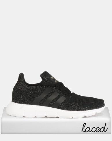 Adidas Originals Swift Run Sneakers Black White Zando