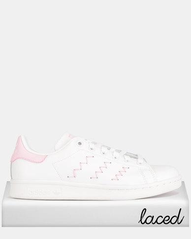 size 40 7a58c 1a5a4 adidas Originals Stan Smith W Sneakers White Pink   Zando