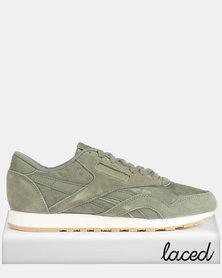 Reebok CL Nylon SG Sneakers Hunter/Green
