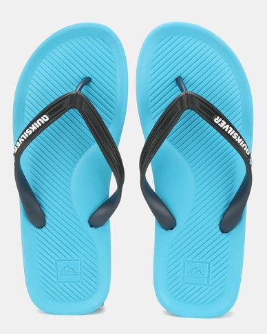 637a110370a Quiksilver Haleiwa Sandals Blue