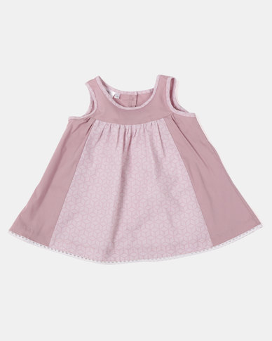 Home Grown LB Dress Mauve