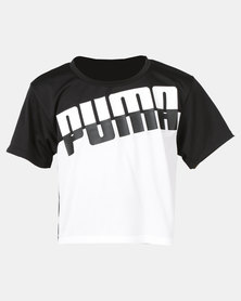 Puma Girls A.C.E Tee White