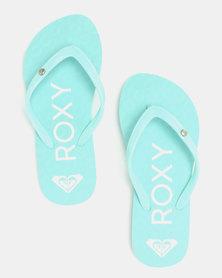 Roxy Sandy II Flip Flops Blue